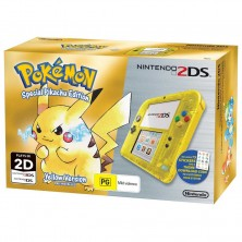 Nintendo 2DS LL Pikachu Special Edition..
