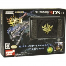 3DS LL Monster Hunter 4 Limited Edition with ..