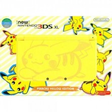 New Nintendo 3DS XL Pikachu Edition..