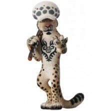 One Piece - Trafalgar Law as Snow Leopard (Amazon ..