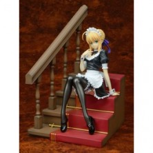 Fate/Hollow Ataraxia - Saber Mousou Maid Ver [Plum..