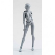 Body-chan - Gray Color Ver. [SH Figuarts]..