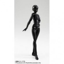 Body-chan - Solid black Ver. [SH Figuarts]..