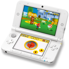 iQue Nintendo 3DS XL..