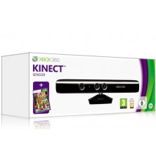 XBOX 360 Kinect Sensor with 3 Games Pre Owned..