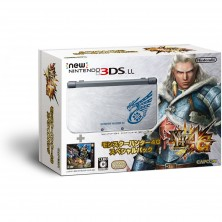 New Nintendo 3DS LL Monster Hunter 4G..