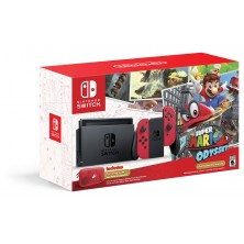 Nintendo Switch Mario Odyssey Bundle..