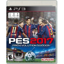Pro Evolution Soccer 2017 (PS3)..