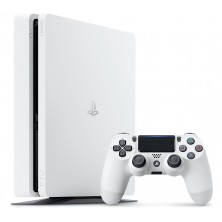 PS4 SLIM SILVER EDITION 500GB..