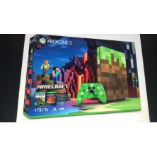 XBOX ONE S Minecraft Limited Edition Bundle..
