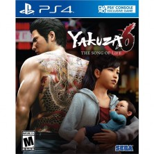 YAKUZA 6: THE SONG OF LIFE (PS4)..